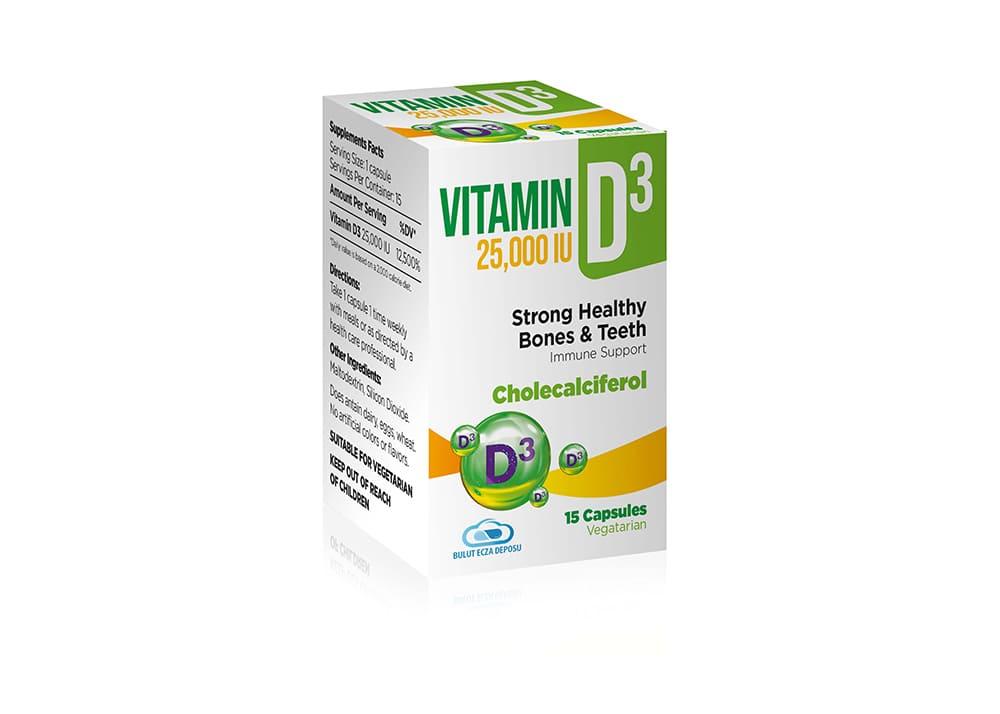 Vitamin 25000 IU D3